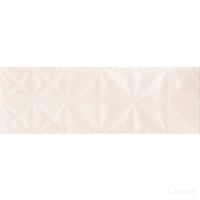 Плитка Opoczno Geometrica CLOUD BEIGE GLOSSY SQUARES STRUCTURE