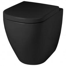 Напольный безободковый унитаз Artceram Faster (FSV004 03;00) black glossy