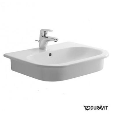 ⇨ Раковины | Керамическая раковина 54,5 см Duravit D-Code 0337540000 в интернет-магазине ▻ TILES ◅