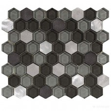 Мозаика L'Antic Colonial Fusion L241711101 HExAGON STEEL MIx