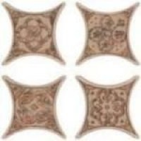Напольная плитка Azulev Cross ESTRELLA UMBRIA декор
