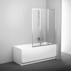 Шторка для ванны Ravak VS3 115 Белый RAIN
