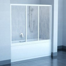 Шторка для ванны Ravak AVDP3- 150 Белый RAIN