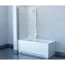 Шторка для ванны Ravak BVS2- 100 L Хром Transparent