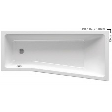 Ванна Ravak BE HAPPY II 160x75 L C961000000