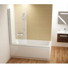 Шторка для ванны Ravak CVS1 -80 L Белый Transparent