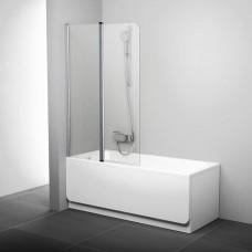 Шторка для ванны Ravak CVS2-100 L Белый Transparent