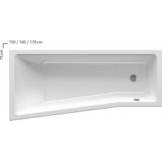 Ванна Ravak BE HAPPY II 160x75 R C971000000