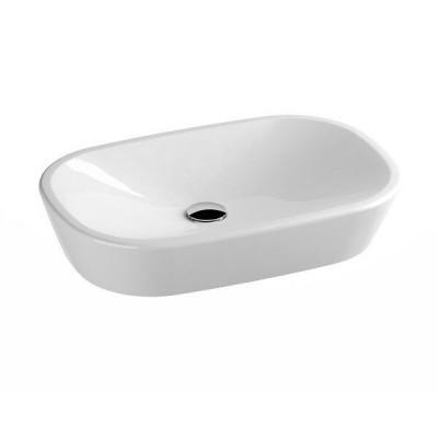 ⇨ Раковины | Умывальник Ravak Керамический 600 О Белый в интернет-магазине ▻ TILES ◅