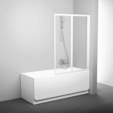 Шторка для ванны Ravak VS2 105 Белый RAIN
