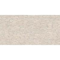 Керамогранит Emil ceramica Tele di marmo Reloaded Battuto Di Listelli Marfil Ordonez Lappato Lucido Rett 59x118,2