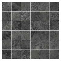 Плитка Opoczno QUENOS GRAPHITE Mosaic Matt Bs
