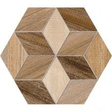 Керамогранит VIVES Siene HExAGONO FRERET MULTICOLOR 9×266×230