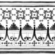 Керамогранит Vives Vodevil BELLARIA-2 SOMBRA 8×200×200